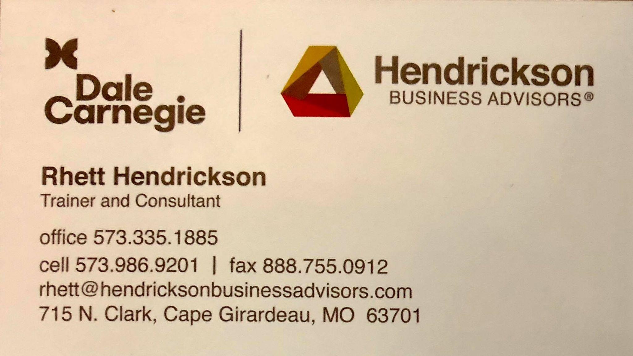 Rhett Hendrickson
